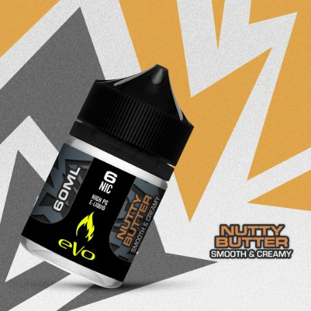 Líquido Nutty Butter - Smooth & Creamy - eVo - VENC. FEV/2020