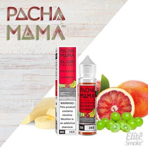 Líquido Blood Orange Banana Gooseberry - Pachamama