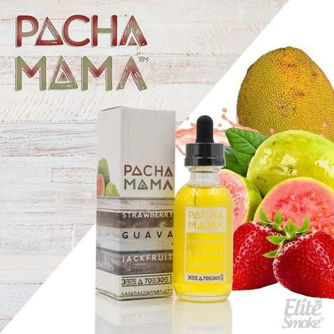 Líquido Strawberry Guava Jackfruit - Pachamama