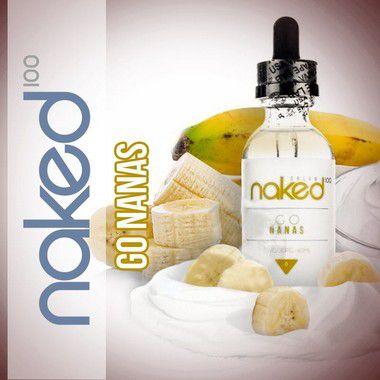 Líquido Go Nanas - Cream - Naked 100 Outlet