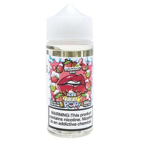 Líquido Strawberry Kiwi - ICED Fruit Pop!