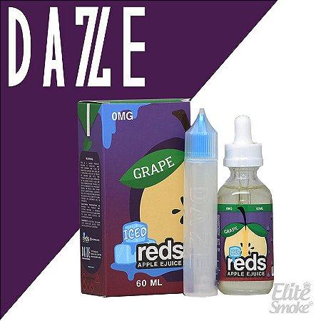 Líquido Grape ICED - Reds Apple Ejuice - 7 DAZE