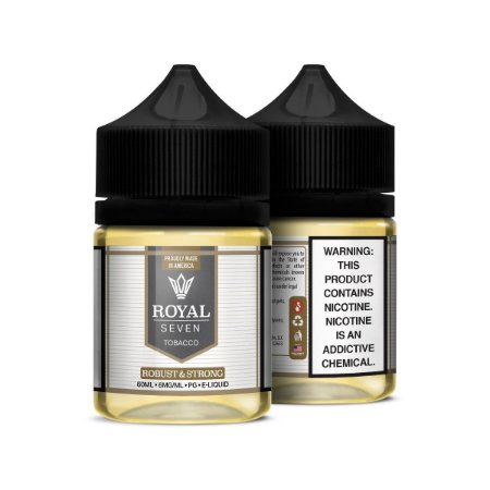 Líquido Robust & Strong - Tobacco - Royal Seven