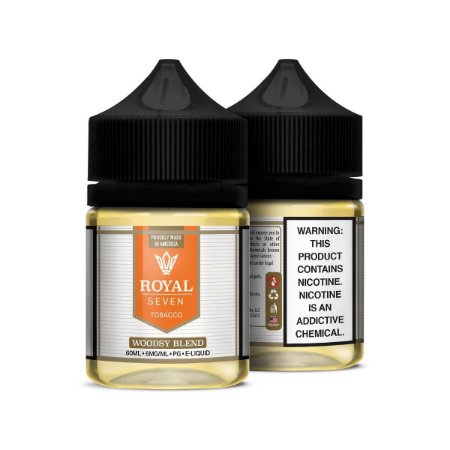 Líquido Woodsy Blend - Tobacco - Royal Seven
