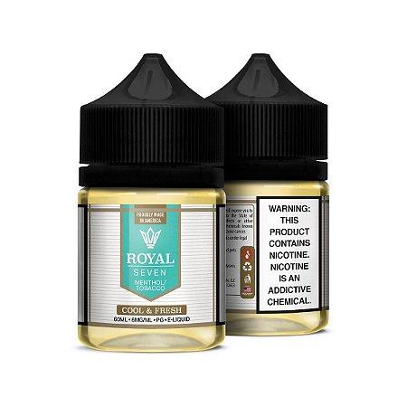 Líquido Cool & Fresh - Tobacco - Royal Seven