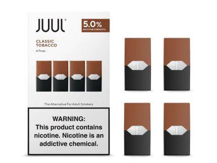 PODs (cartucho) c/ Líquidos - CLASSIC TOBACCO - JUUL Labs