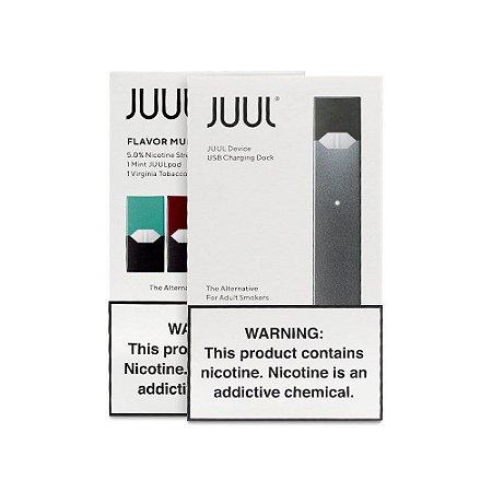 Kit JUUL - POD System - Starter Kit com 2 Pods (Original) - JUUL
