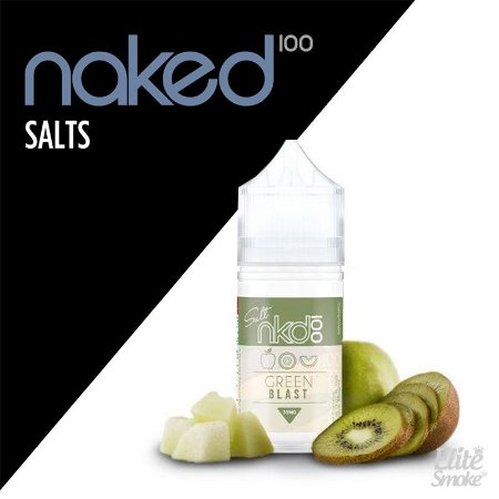 Líquidos Green Blast - SaltNic / Salt Nicotine - Naked 100