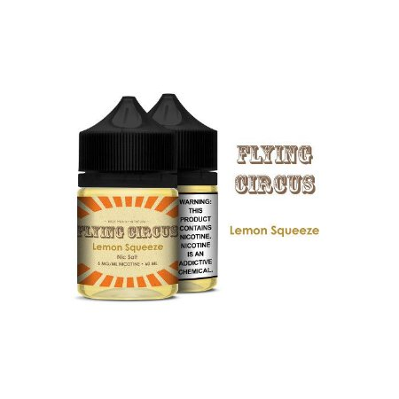 Líquido Lemon Squeeze - Sub-Ohm Salt Nic - Flying Circus