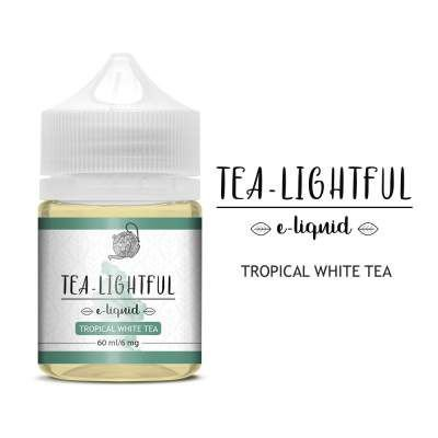 Líquido Tropical White Tea - Tea-Lightful