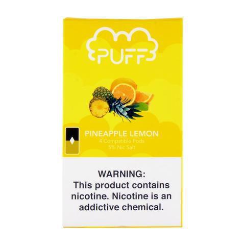PODs (cartucho) c/ Líquidos p/ JUUL - Pineapple Lemon - PUFF
