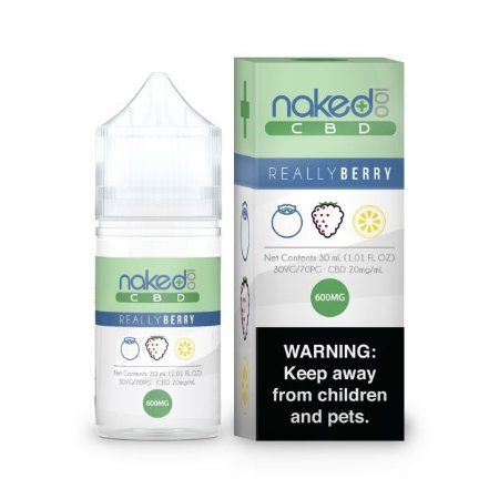 Líquidos Really Berry - CBD - Naked 100 CBD