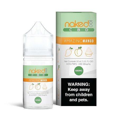 Líquidos Amazing Mango - CBD - Naked 100 CBD