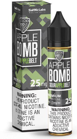Líquido Apple Bomb - SaltNic / Salt Nicotine - Vgod