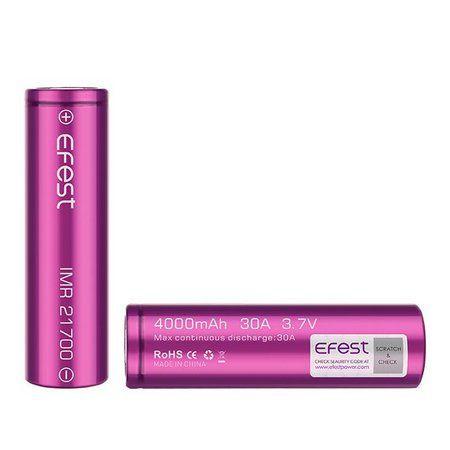 Bateria (21700) 4000mAh 30A - Efest