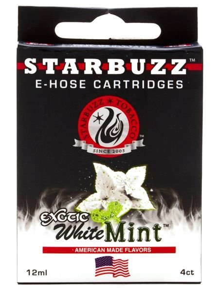 Refil Starbuzz E-Hose - Essencia - Exotic White Mint
