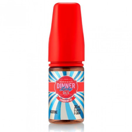 Líquido Strawberry Ice - Summer Holidays - Dinner Lady Salt Nic