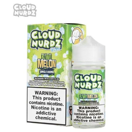 Líquido Kiwi Melon ICED - Cloud Nurdz