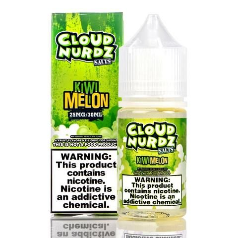 Líquido Kiwi Melon - Cloud Nurdz Salts