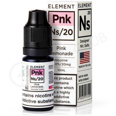 Líquido Element SALT / 35MG - Pink Lemonade (Pnk)