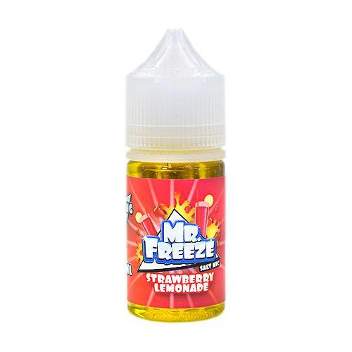 Líquido Strawberry Lemonade - SaltNic / Salt Nicotine - Mr. Freeze