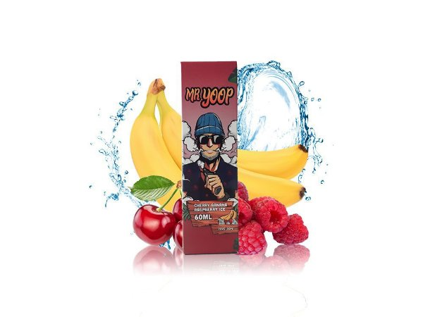 Líquido Cherry Banana Raspberry ICE - Mr. Yoop