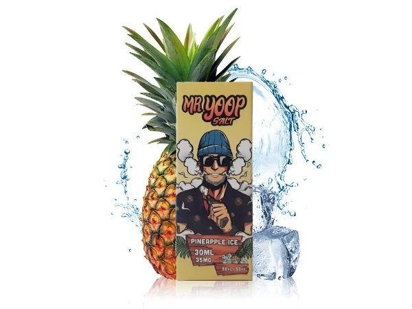 Líquido Pineapple ICE - Mr. Yoop Salt Nic
