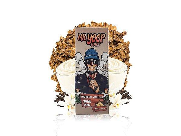 Líquido Tobacco Vanilla - Mr. Yoop Salt Nic