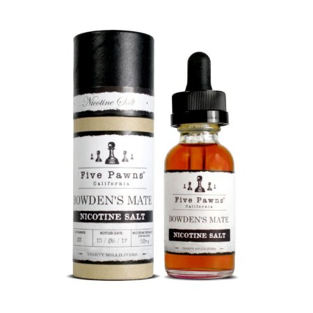 Líquido Bowdens Mate - SaltNic / Salt Nicotine - Five Pawns