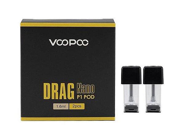 Cartucho (Pod) de Reposição P1 (c/ Bobina) p/ Drag Nano - Voopoo