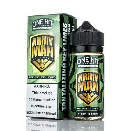 Líquido Army Man - SaltNic / Salt Nicotine - One Hit Wonder