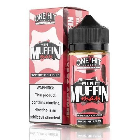 Líquido Mini Strawberry Muffin Man SaltNic / Salt Nicotine - One Hit Wonder e-Liquid