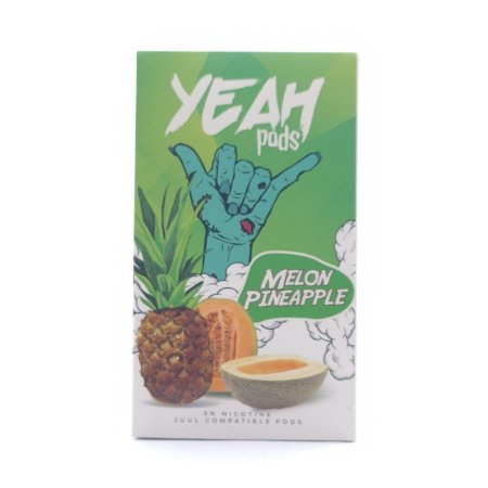 Cartucho (Pod) de Reposição (c/ Líquido) Melon Pineapple p/ Yoop & Juul - Yeah