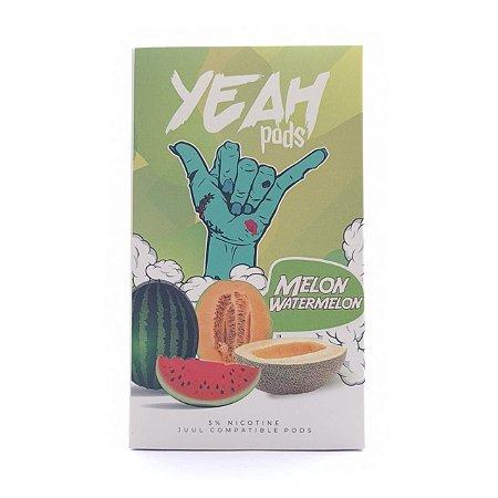 Cartucho (Pod) de Reposição (c/ Líquido) Melon Watermelon p/ Yoop & Juul - Yeah