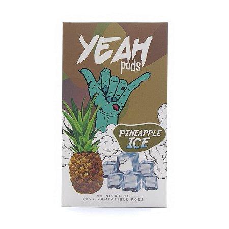 Cartucho (Pod) de Reposição (c/ Líquido) Pineapple Ice p/ Yoop & Juul - Yeah