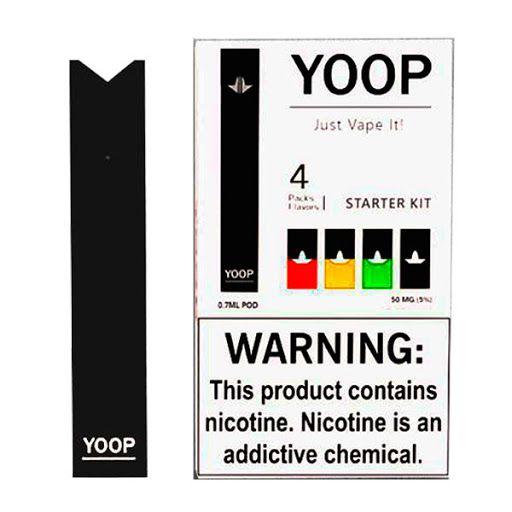 Pod System Yoop 260mAh + 4x Cartuchos - Yoop