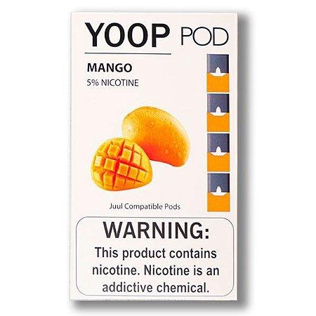 Pod c/ Líquido Mango p/ Pod System Yoop & Juul - Yoop