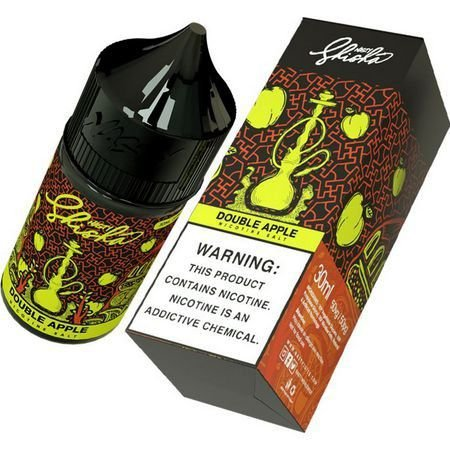 Líquido Double Apple (Shisha) - SaltNic / Salt Nicotine - Nasty Juice - Vencimento: Fev/2022