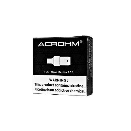 Cartucho (Pod) de Reposição (c/ Bobina) p/ Fush Nano - Acrohm