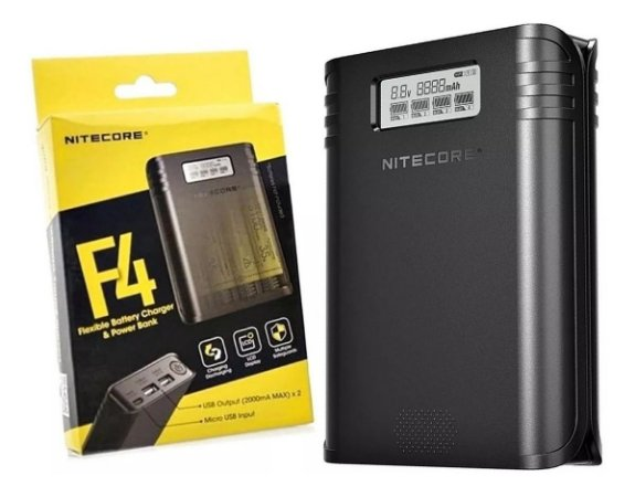 Carregador (Charger) Powerbank F4 - Nitecore