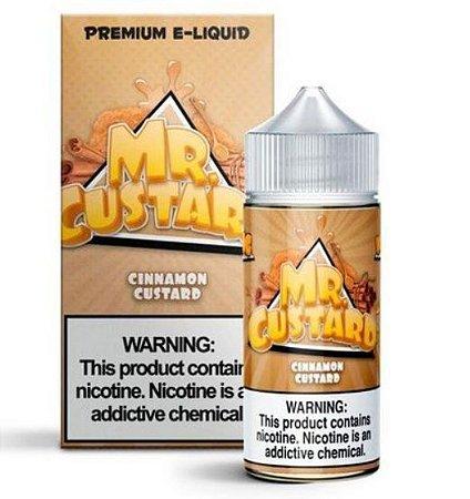 Líquido Cinnamon Custard - Mr. Freeze