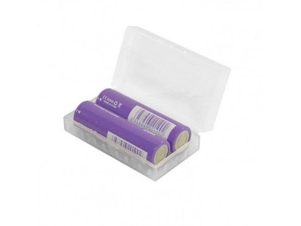 Capa p/ 2x Baterias 18650 / 2x Baterias 21650