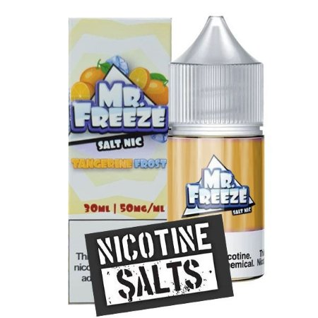 Líquido Tangerine Frost - SaltNic / Salt Nicotine - Mr. Freeze - Vencimento: Dez/2021