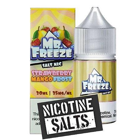 Líquido Strawberry Mango - Frost - Mr. Freeze SaltNic