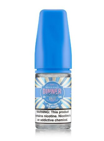 Líquido Blue Menthol - SaltNic / Salt Nicotine - Dinner Lady