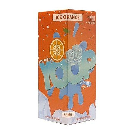 Líquido Ice Orange - SaltNic / Salt Nicotine - Yoop