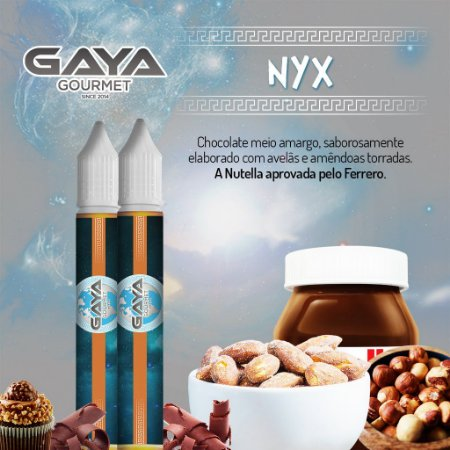 Liquido NYX (Chocolate) | GAYA Gourmet