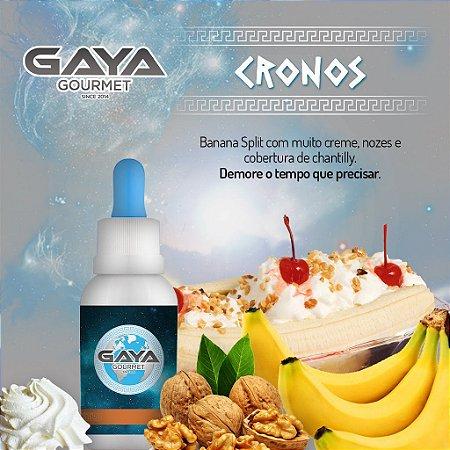 Liquido Cronos (Banana / Baunilha) | GAYA Gourmet