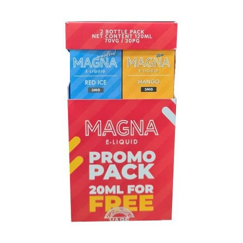 Líquido Red Ice / Mango Ice (PROMO PACK) - Magna