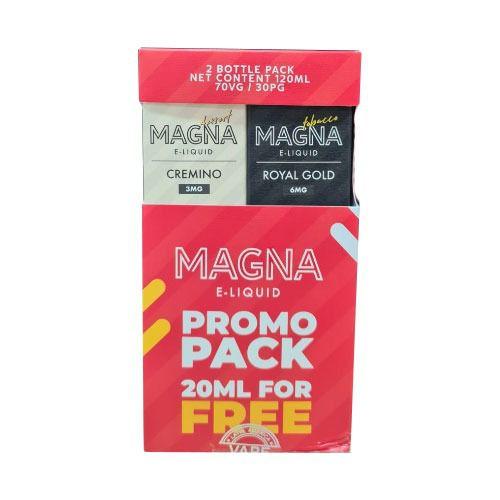 Líquido Royal Gold / Cremino (PROMO PACK) - Magna